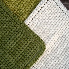Chinese Waves Dishcloths - Free Pattern