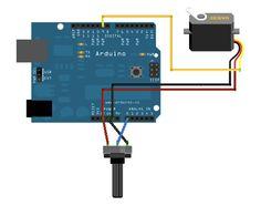 Arduino - Knob to control a motor
