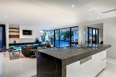 Medallion by Webb and Brown-NeavesDesigned by Webb & Brown-Neaves, this modern two-storey single family residence is situated in Floreat, Western Australia. Inspired by the early a... Architecture