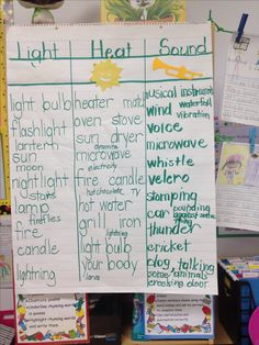 Worksheets Heat Light And Sound Worksheets For 4th Grade activities lights and colors on pinterest science heat light sound