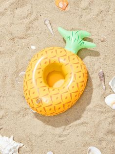 Pineapple Shaped Inflatable Drink Holder