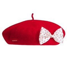 Disney Anglobasque Beret with Detachable Bows