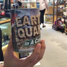 Who knew you could buy an earthquake in a can? They're for sale in Excavations, the store inside the Sam Noble Oklahoma Museum of Natural History!