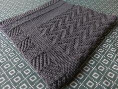 Charcoal baby blanket – All Mad(e) Here – Blog de loisirs créatifs & culturels: DIY, tricot,déco
