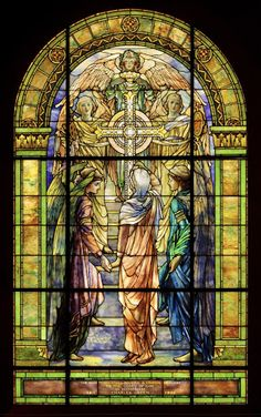 The Righteous Shall Receive A Crown of Glory - Tiffany, Louis Comfort (American, 1848-1933), Designer — Google Arts & Culture