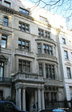 Daytonian in Manhattan: The Italian Renaissance Stevens Mansion -- No. 11 East 78th STreet