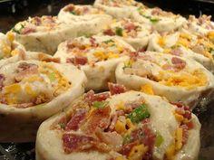Bacon Cheddar Breakfast Buns