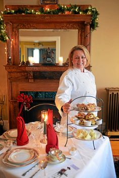 The Kingston Tea Room in Uptown offers a European-style experience