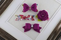 LittleSunshineByDi on Etsy Felt Hair Bows, Felt Hair Clips, Baby Hair Clips, Toddler Hair Clips, Girls Hair Accessories, Felt Flowers, Fall Hair, Daisy, Handmade Gifts