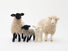 Felted Sheep, mekete.blog61.fc2.com