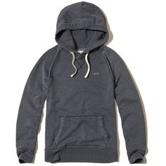 Hollister Feel Good Fleece Icon Hoodie (52 CAD) ❤ liked on Polyvore featuring men's fashion, men's clothing, men's hoodies, navy, mens hoodies, mens sweatshirts and hoodies, mens fleece hoodies and mens slim fit hoodies