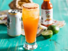 We like our micheladas with a bold acidity and noticeable heat. This version of the refreshing Mexican beer cocktail is made with cold light beer, fresh lime juice, hot sauce, and Worcestershire sauce.