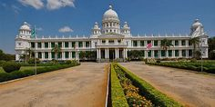 The beautiful Lalitha Mahal Palace of Mysore
