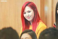 Red Velvet Wendy Red Hair / Son Seungwan