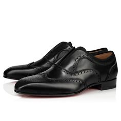 Christian Louboutin United States Official Online Boutique - Platerboy Flat Black Leather available online. Discover more Men Shoes by Christian Louboutin Leather Men, Black Leather, Men's Shoes, Dress Shoes, Prince, Red Sole, Formal Shoes, Black Backpack, Black Flats