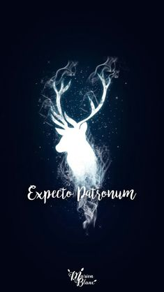 15 Harry Potter inspired wallpapers to fill . - Mobile wallpaper with the illuminated silhouette of in deer, expecto patronum, Harry Potter Harry Potter Tumblr, Harry Potter Magie, Arte Do Harry Potter, Harry Potter Spells, Theme Harry Potter, Harry Potter Pictures, Harry Potter Love, Harry Potter Universal, Harry Potter Fandom