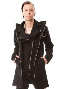 Vixxsin - Gothic Jacke mit grossem Kragen - Resolution Jacket