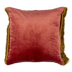 #Putetrekk Rød Golden #puter #interiør #kremmerhuset