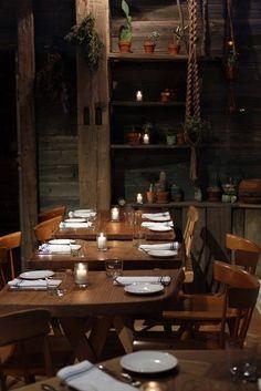 Restaurant, I enjoy the natural simplicity
