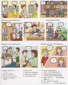 Introducing yourself and others English lesson