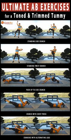 Tuck that tummy slim and sculpt a beautifully toned mid-section. Click to see the video. #abs #fitness #weightloss #health