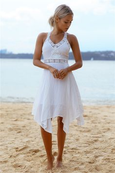 HelloMolly | Our Moment Dress White