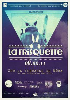 LA FRISQUETTE - 8 FÉVRIER - TERRASSE DU NÜBA - PARIS