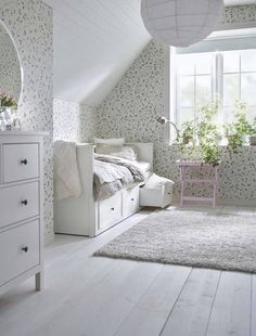 Best Ikea Furniture And Decor Pieces For Small Bedrooms Best Ikea Furniture And Decor Pieces For Small Bedrooms Caroline Meine Wohnung mein Leben mit dir Shop domino […] for home living room top 10 Ikea Hemnes Daybed, Hemnes Bed, Room Ideas Bedroom, Room Decor, Ikea Small Bedroom, Daybed Room, Decoration Ikea, Small Room Design, One Bedroom Apartment