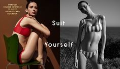 Fashion fan blog from industry supermodels: Waleska Gorczevski - Barney's New York Swimwear - ...