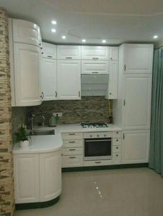 Trendy small mobile home kitchen remodel renovation