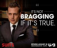 Harvey, suits quote