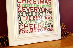 """FUN! free printable of """"The Code of the Elves"""" from ELF!!"""