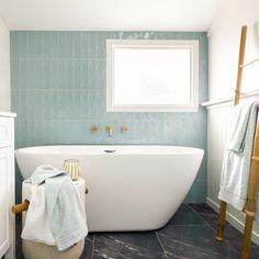 Bathroom Tapware, Bathroom Renos, Bathroom Inspo, Bathroom Inspiration, Bathroom Ideas, Family Bathroom, Small Bathroom, Pastel Bathroom, Modern Bathtub