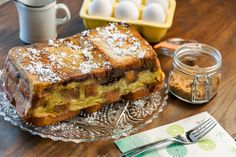 Brunch Recipe: Brown Sugar French Toast Loaf.. prepare the night-before.. then just bake in the morning..
