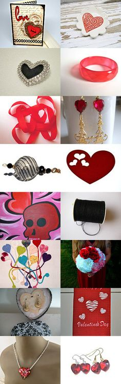 Sweet 16 Falls in Love! by Sharon Fuente on Etsy--Pinned with TreasuryPin.com