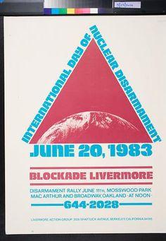 Malcolm Tarlofsky ~ artist, International Day of Nuclear Disarmament: June 20, 1983