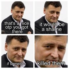 MOFFAT! Now sir, you must understand. I do hate you, but I'm not in hate with you.