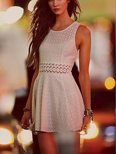 ~ Fitted With Daisies Dress