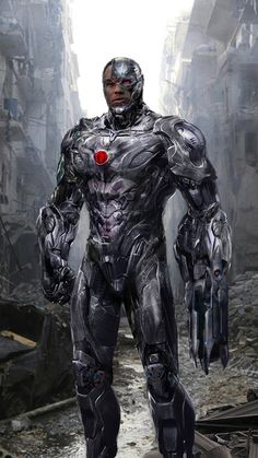 Cyborg by John Gallagher Ray Fisher will play Cyborg in Batman V Superman Dawn Of Justice.