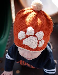 Tiger Stamped Hat Pattern - Knitting Patterns and Crochet Patterns from KnitPicks.com
