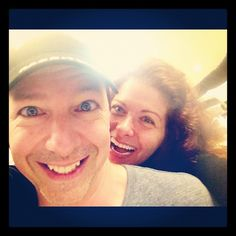 """REUNITED!!!! And it feels SOOOO GOOD#smash #will ""   - Tweeted by @DebraMessing"