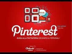 Pinterest: guida alla piattaforma (free webinar) - YouTube
