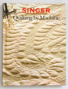 "SINGER ""Quilting By Machine"" ► http://etsy.me/1DwE8TJ"