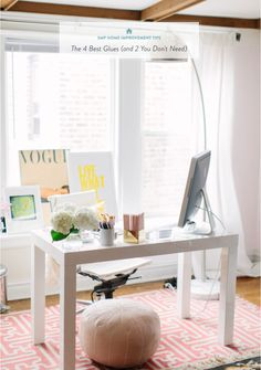 Office space: http://www.stylemepretty.com/living/2015/04/08/20-pops-of-pastels-we-love/