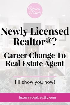 a career as a real estate agent Following is everything you need to know about a career as a real estate broker or sales agent with lots of details as a first step, take a look at some of the following jobs, which are real jobs with real employers.