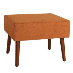 Cassady Ottoman - Overstock Shopping - Great Deals on Antique Revival Ottomans Upholstered Stool, Furniture Deals, Furniture Outlet, Online Furniture, Furniture Shopping, Home Comforts, Living Room Chairs, Mid-century Modern, Modern Living