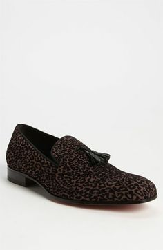 Dare to be bold with Mezlan 'Nero' Tassel Loafer available at #Nordstrom