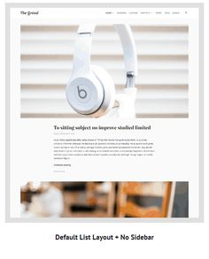Grood - Personal #Blog & #Magazine #WordPress #Theme