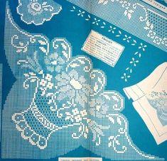 Filet Crochet, Bargello, Cross Stitch Embroidery, Bookmarks, Free Pattern, Victorian, Knitting, Handmade, Crochet Stitches Chart