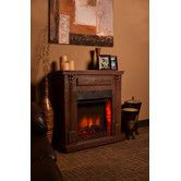 "Bond Rustic Indoor Electric Fireplace - 68002-42.5"" H x 15.75"" W x 42"" D  Found it at Wayfair - Rustic Indoor Electric Fireplace"